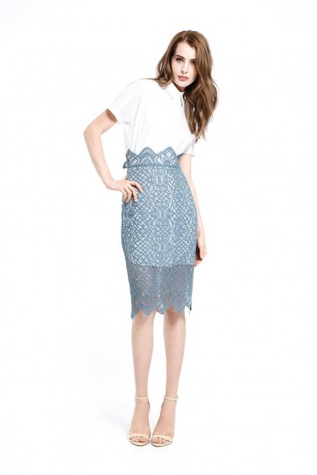 Favorini 12253 (юбочный костюм)